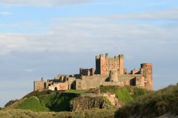 Bamburgh Castle from North